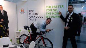 Zelenka bike fundraiser