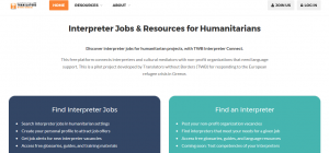 TWB launches the first-ever portal to connect humanitarian interpreters with non-profit organizations