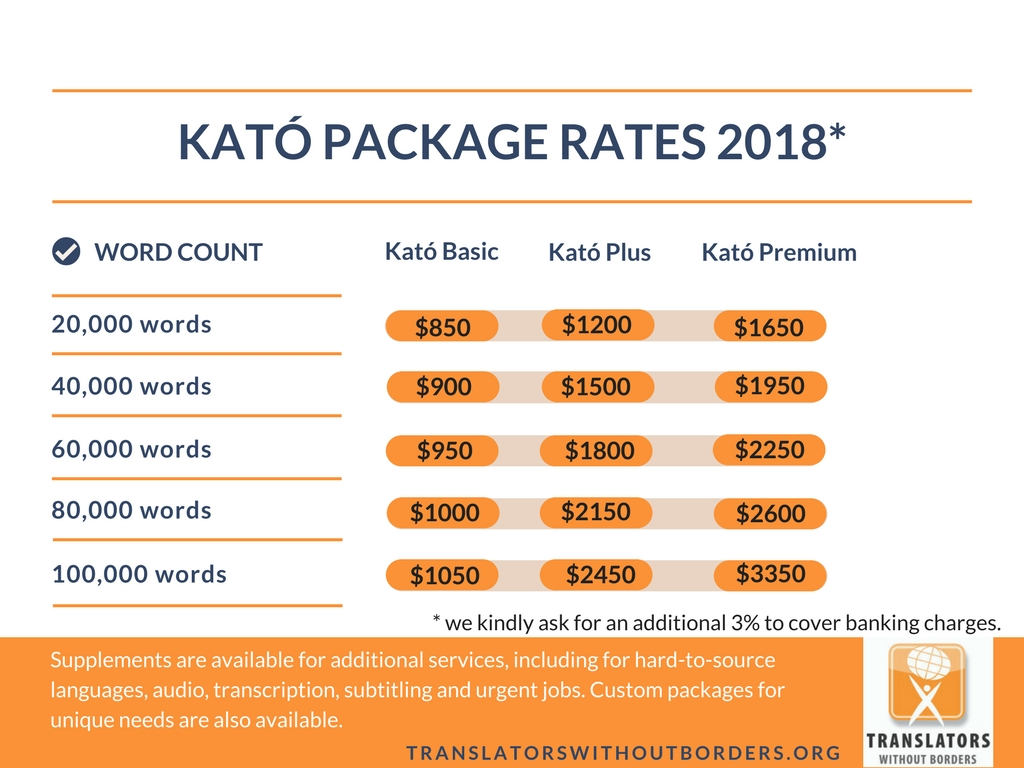 Kato Pricing 2018