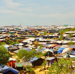 Kutupalong makeshift camp Cox's Bazar, Bangladesh
