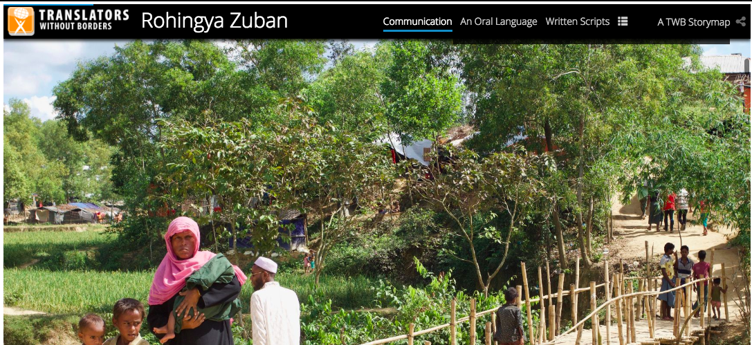 Rohingya Zuban report