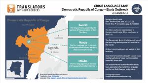 Ebola Outbreak in Beni Territory, DRC — Crisis Language Map