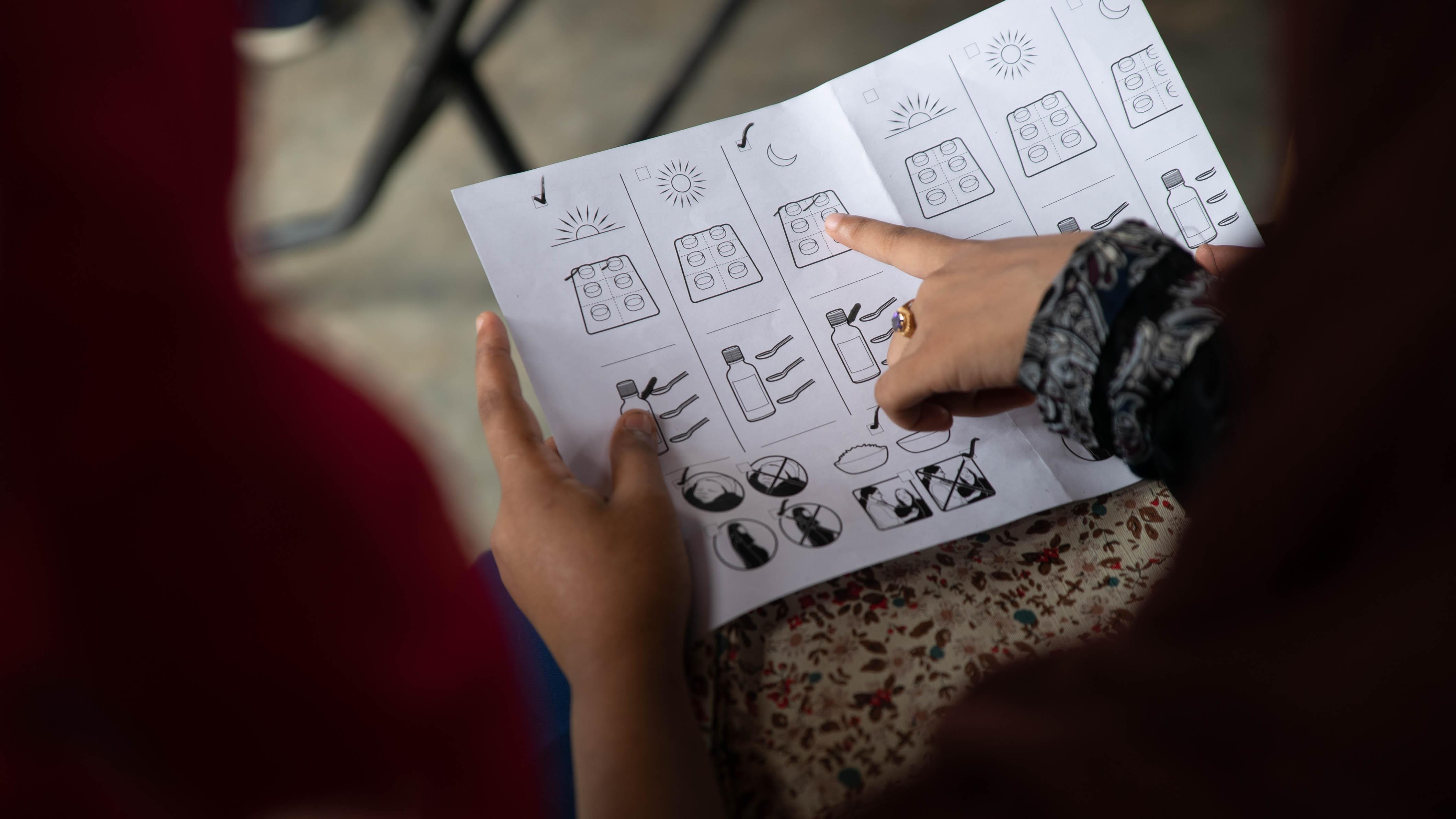 Health guide Rohingya