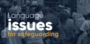 PSEA Recommendations - Language issues for safeguarding